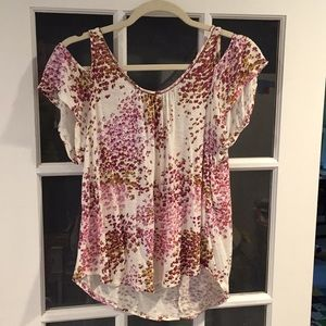 Cold shoulder top (Lucky brand)